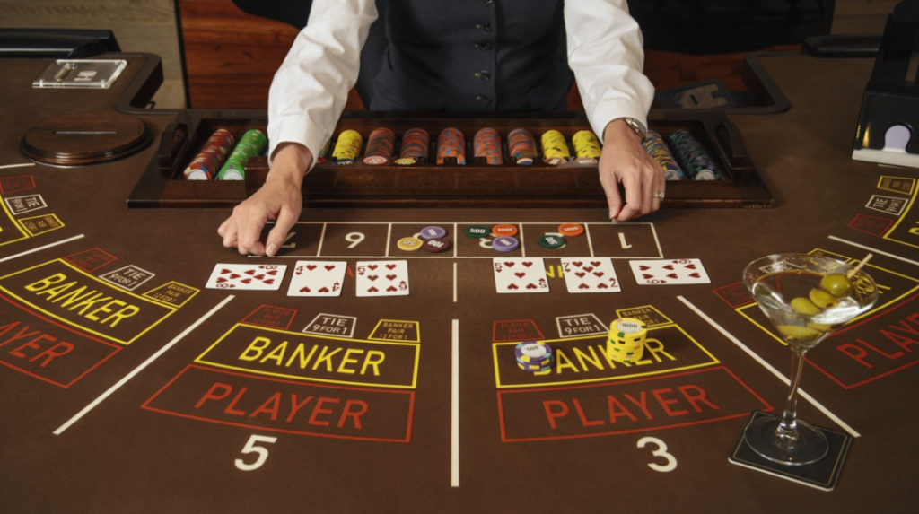Baccarat Bet Selection